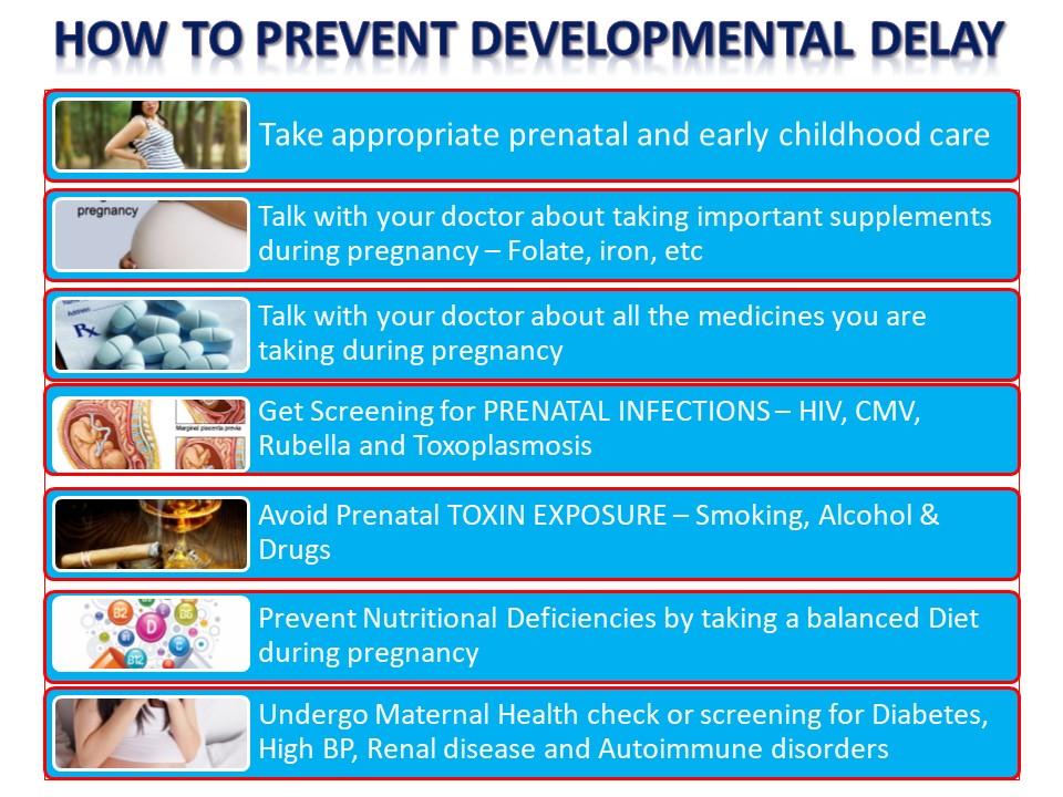 How to prevent developmental delay